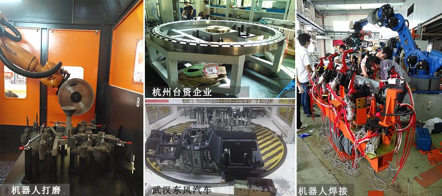 重负载专用凸轮分割器应用案例