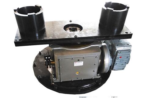 关于平行凸轮分割器的机体的安装